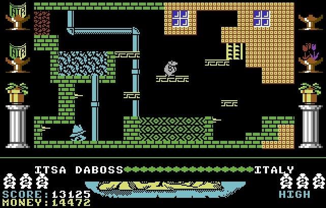 Auf Wiedersehen Monty (C64)