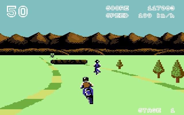Enduro Racer (C64)