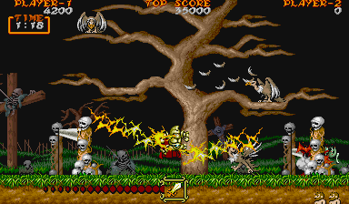 Ghouls 'n Ghosts - MD (SEGA - Capcom, 1989