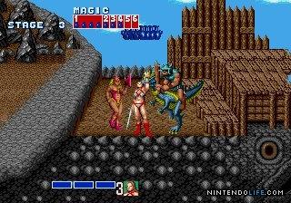 Golden Axe - MD (SEGA - Team Shinobi, 1989)