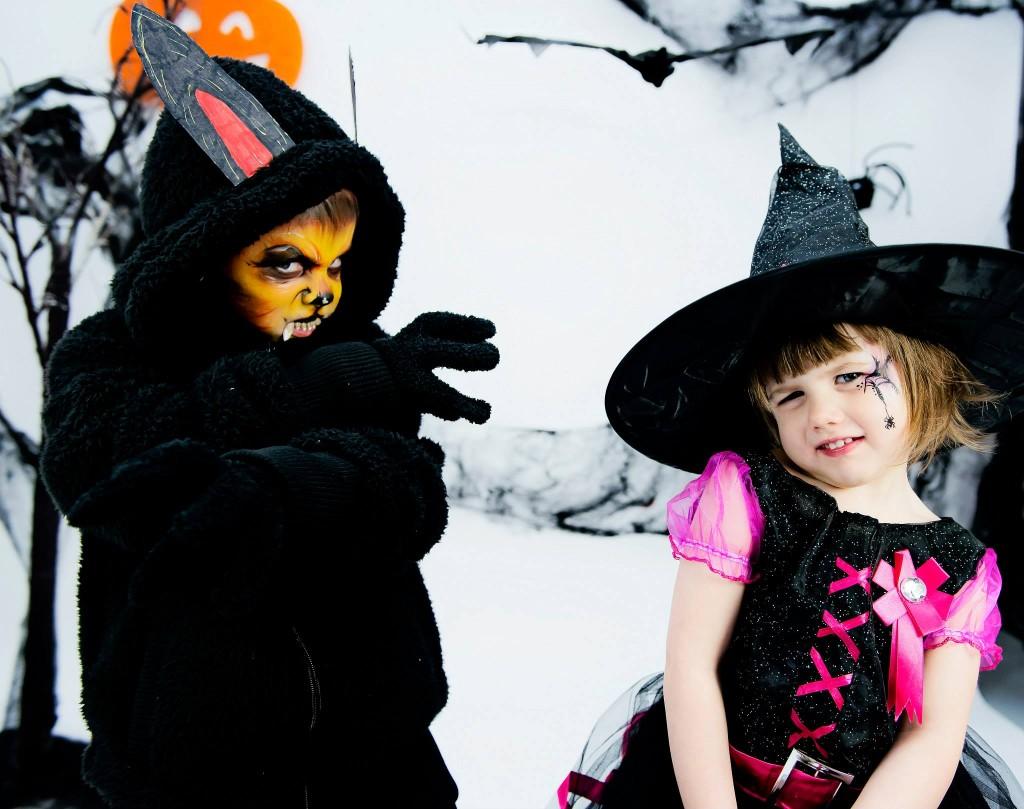 Halloween 2014 Loup Garou VS Petite Sorcièe