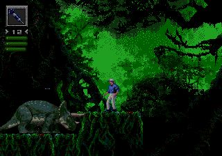 Jurassic Park - MD (SEGA - Bluesky Software, 1993)
