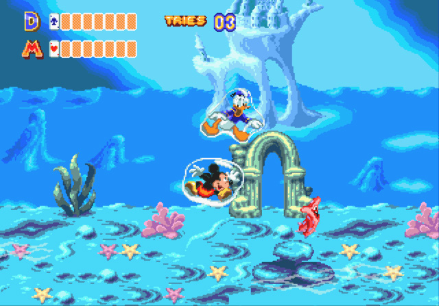 World of Illusion starring Mickey Mouse & Donald Duck - MD (Sega, 1992)