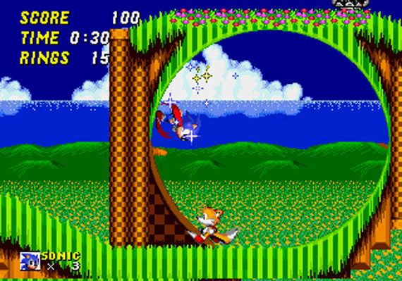 Sonic the Hedgehog 2 - MD (SEGA, 1992)