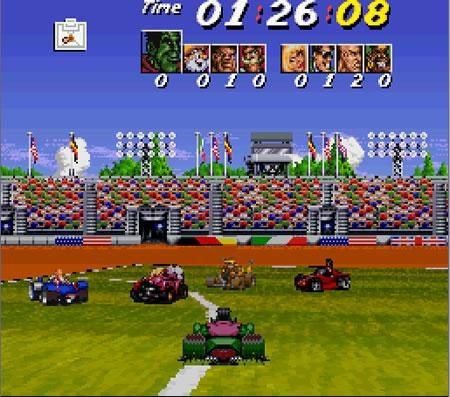 Street Racer - MD (Ubi Soft - Vivid Image, 1995)