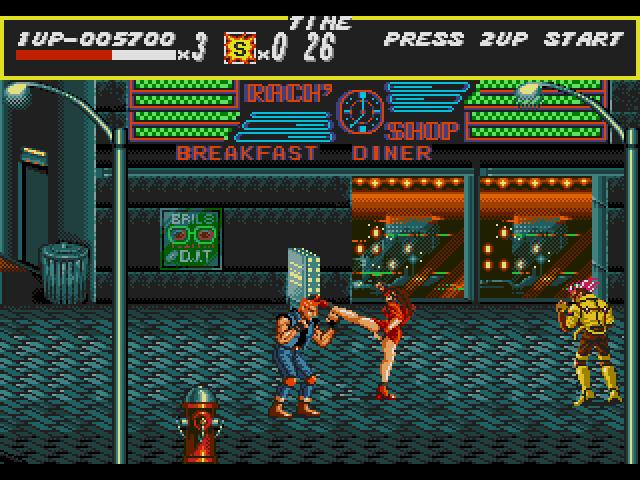 Streets of Rage - Mega Games 2 - MD