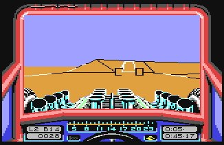 Stunt Car Racers (C64)