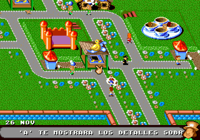 Theme Park - MD (Electronic Arts - Bullfrog Productions, 1995)