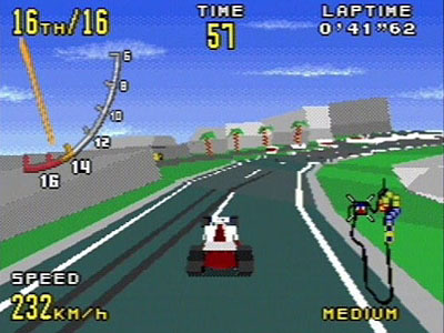 Virtua Racing - MD (SEGA, 1994)