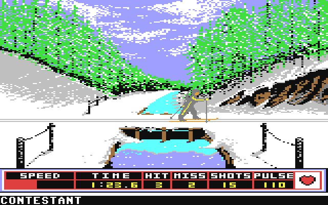 Winter Games (C64)