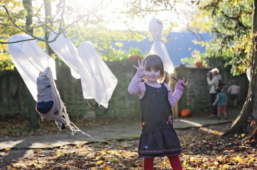 Ambiance Halloween à Pairi Daiza