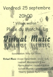 Virtual Music - Concert - Septembre 1998