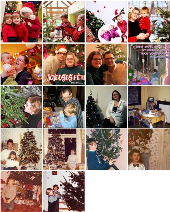 Noël au fil des années