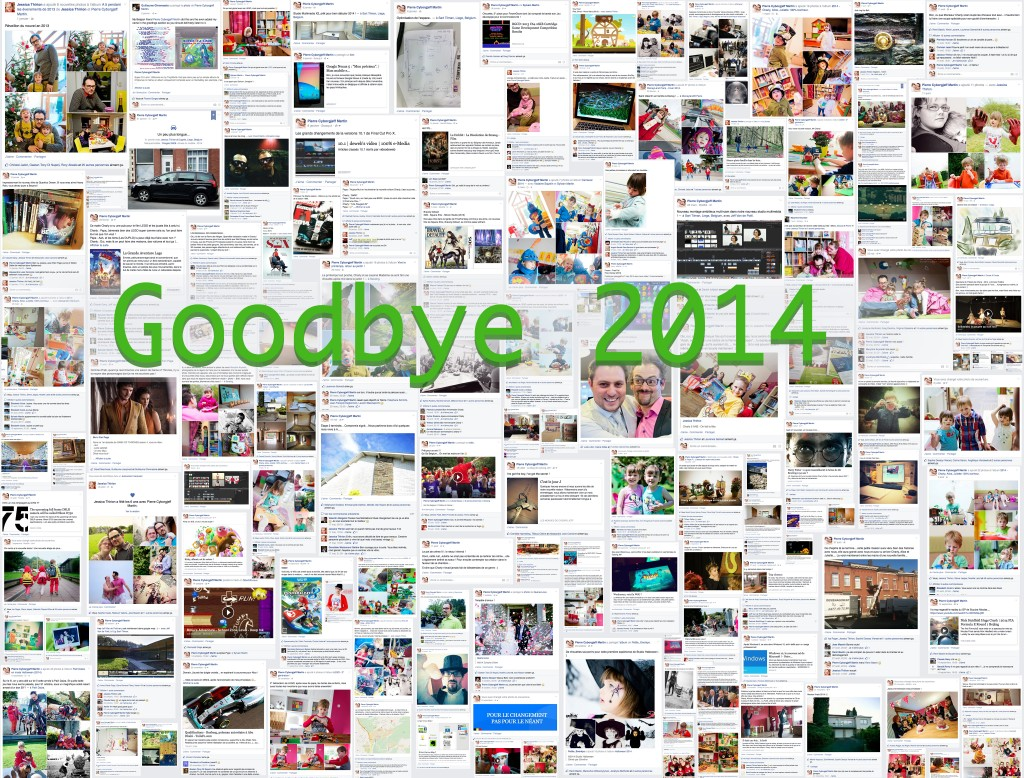 Goodbye 2014 - Facebook