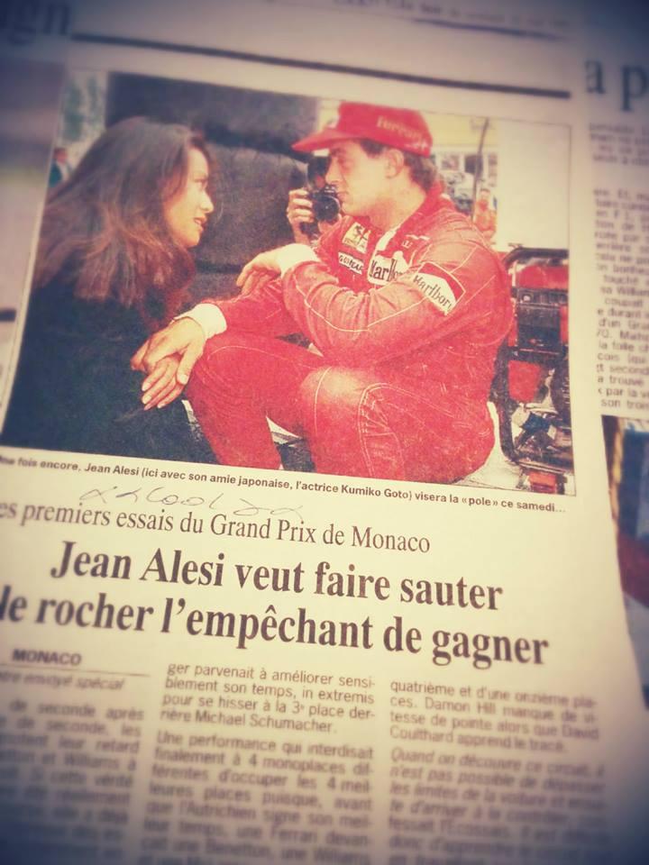 Alesi veut Gagner à Monaco !