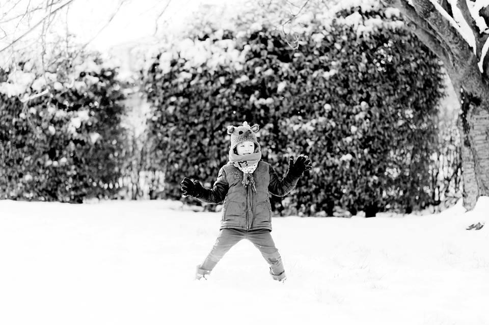 Charly et la neige