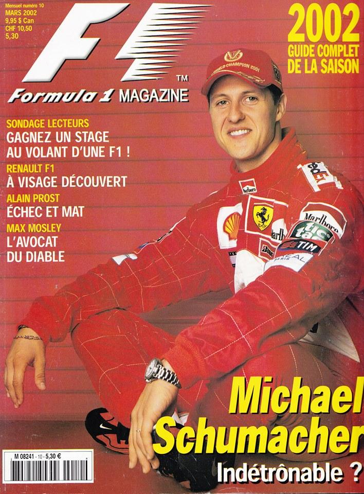 Le guide F1 2002 - Formula 1 Magasine.