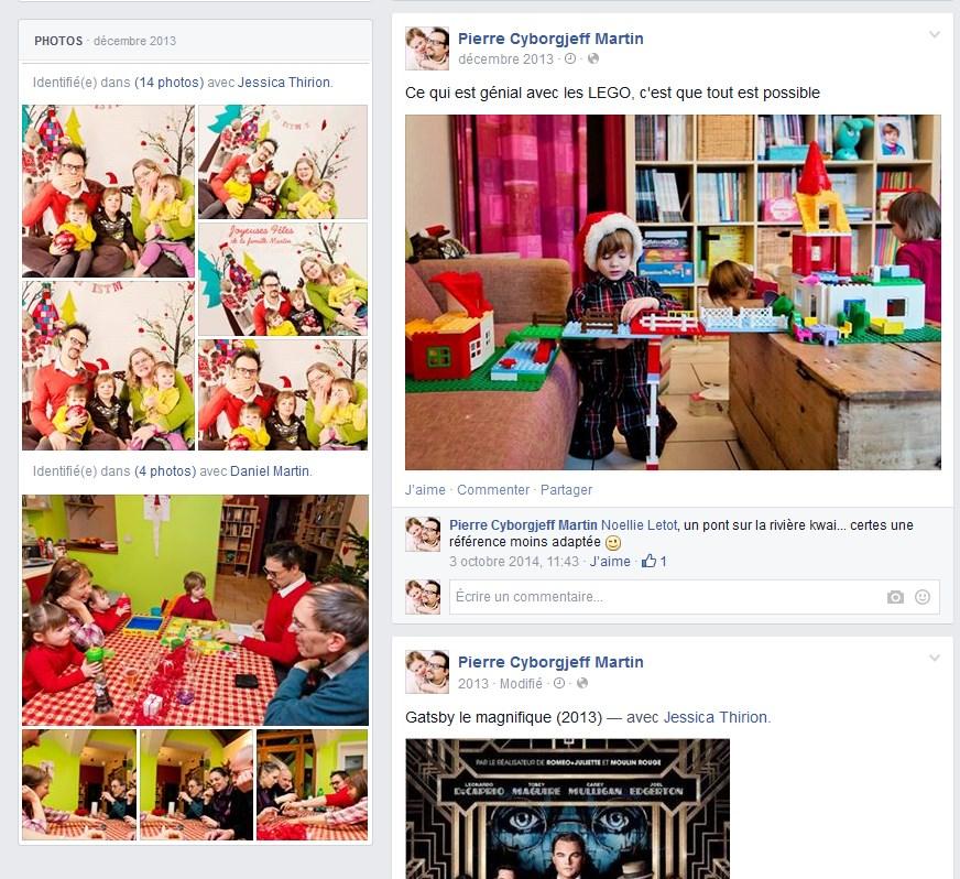 Facebook Décembre 2013