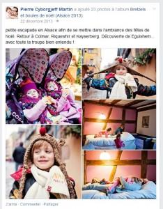Facebook - Alsace - décembre 2013