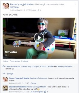 Facebook - Charly - Little Kurt