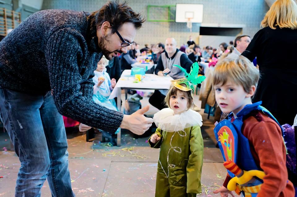 Le Carnaval de l'école du Sart Tilman 2015