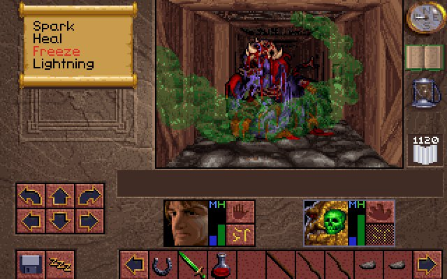 Lands of Lore : the throne of chaos - PC (Westwood - Virgin Interactive, 1993)