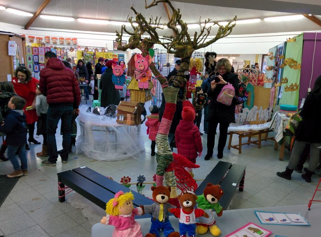 Expo La Forêt des Comtes - Ecole du Sart Tilman