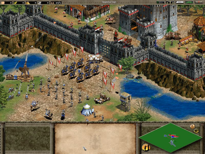 Age of Empire II : The Age of King (PC)