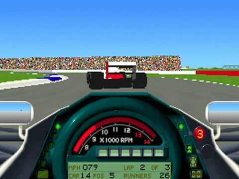 Formula One Grand Prix - PC MS-DOS (Microprose, 1992)