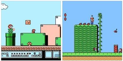 NES - Super Mario Bros. 3 - Super Mario Bros. 2