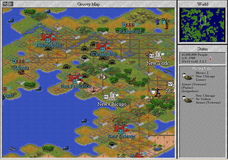 Sid Meier's Civilization II (PC)
