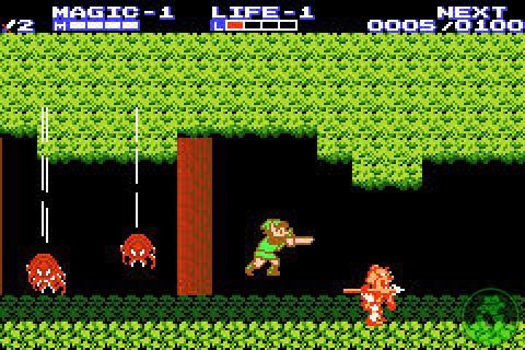 Legend of Zelda II : The Adventure of Link (NES)