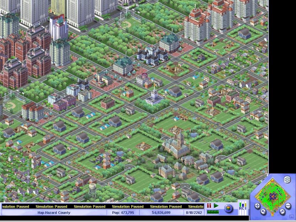Simcity 3000 (PC)