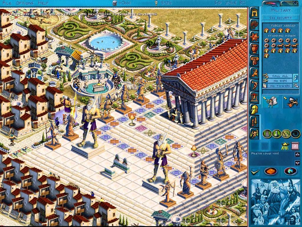 Le maitre de l'Olympe : Zeus (PC)