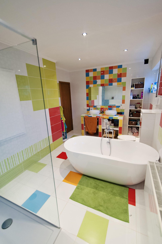 salle de bain pixel art carrelage mosa et pamesa les. Black Bedroom Furniture Sets. Home Design Ideas