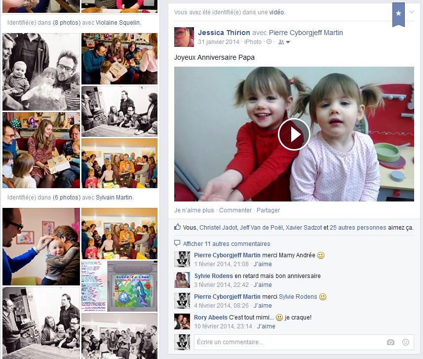 Facebook - Janvier 2014