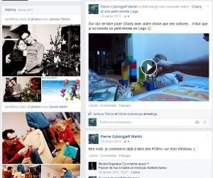 Facebook - Janvier 2011