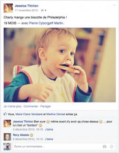 Facebook - novembre 2010 - miam