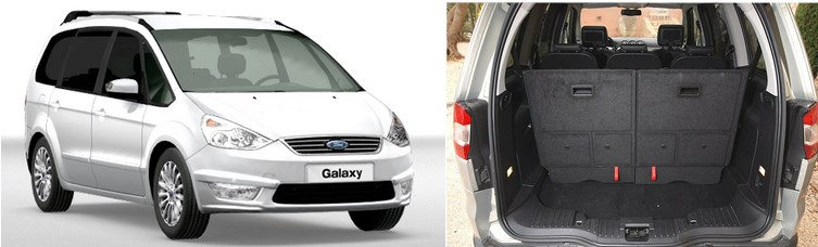 Ford Galaxy - 7 places
