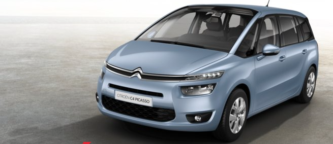 Citroen C4 Grand Picasso - 7 places