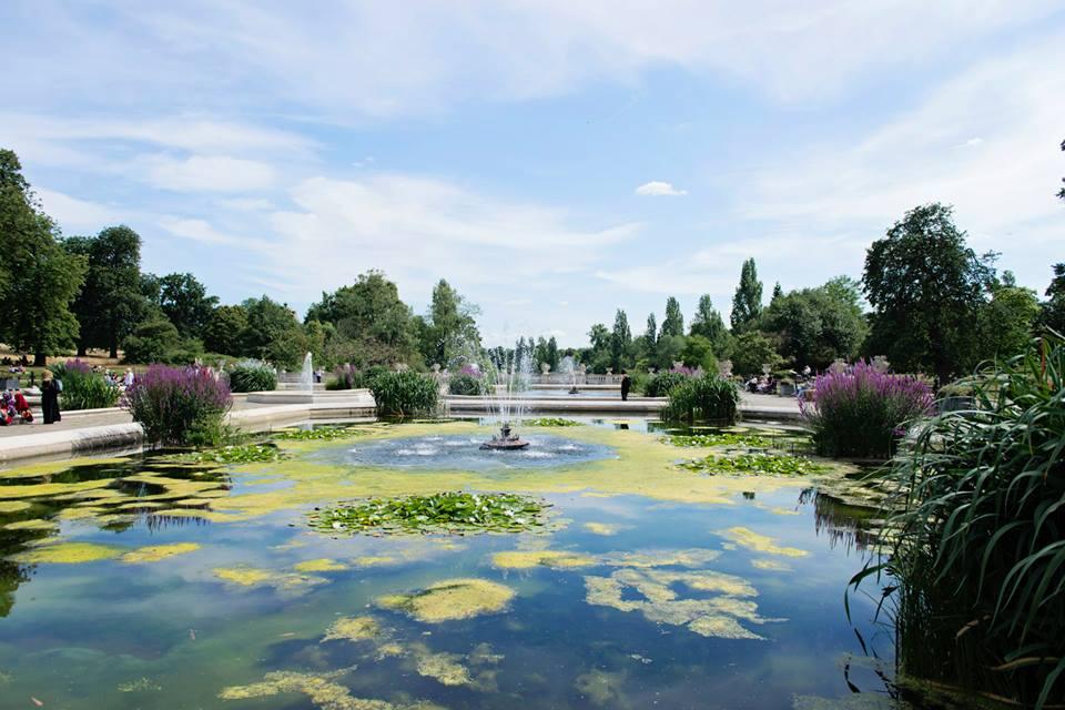 Jardin d'Italie - Hyde Park