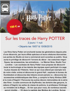 Sur les traces de Harry Potter - Deltour