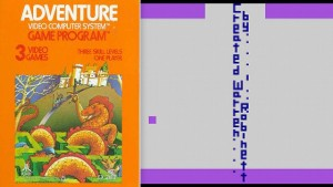 eastereggs adventure atari