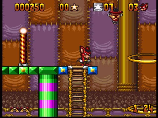 Aero the Acrobat - SNES (Sunsoft - Iguana Ent. 1993)
