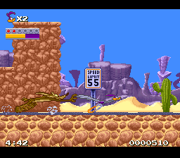 Looney Tunes : Road Runner (SNES)