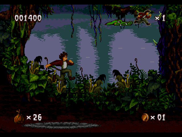 Pitfall : The Mayan adventure (SNES)