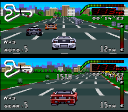 Top Gear - SNES (Kemco, Gremlin Graphics, 1992)