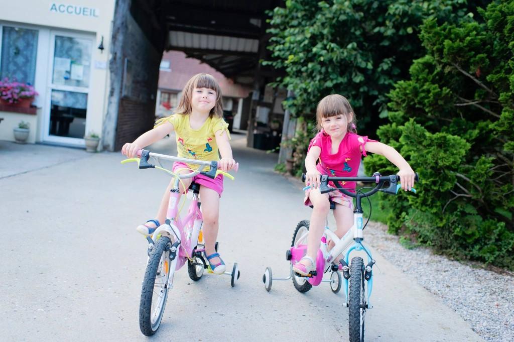 Les Miss en vélo - Le Domaine de la Pommeraie - Nuncq