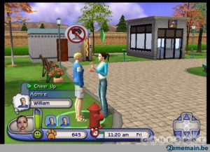 Les Sims - PS2 (Electronic Arts, Maxis, 2003)