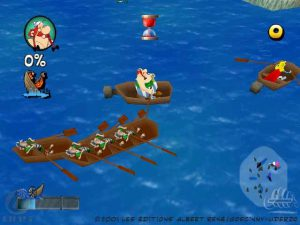 Asterix : Maxi Delirium - Playstation (Infogrames - Unique Developpement Studio, 2001)